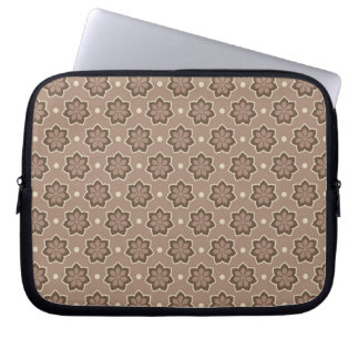 Floral Pattern Laptop Sleeve