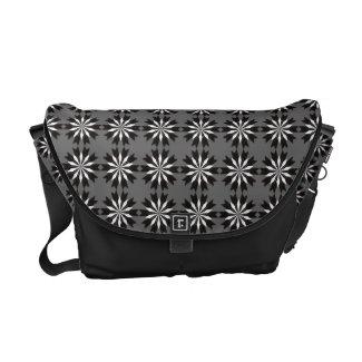 Floral pattern Messenger Bag rickshawmessengerbag