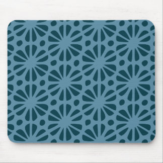 Floral Pattern Mouse Pad
