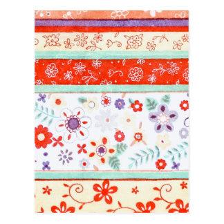 Floral Pattern Postcard