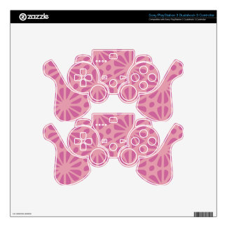 Floral Pattern PS3 Controller Decals