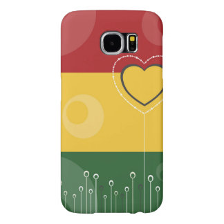 Floral Pattern Samsung Galaxy S6 Cases