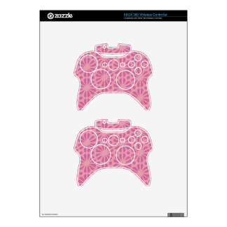 Floral Pattern Xbox 360 Controller Decal