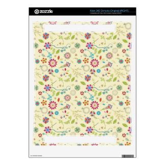 Floral pattern skin for the xbox 360
