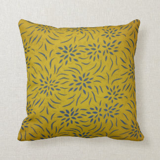 Floral Pattern Throw Pillow for Home Decor Pillow