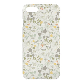 Floral Pattern with cute birds iPhone 8/7 Case