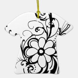 Floral Peace Ornament
