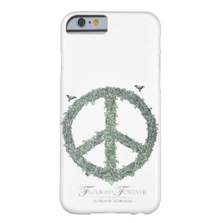 Floral Peace Sign  Flourish Forever by TEO Barely There iPhone 6 Case