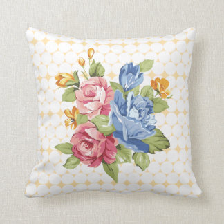 Floral & Pearls Throw Pillows