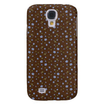 floral Pern 3 casing Galaxy S4 Cover