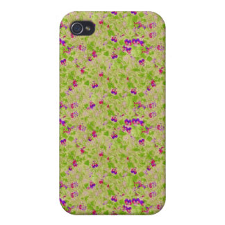 Floral Pern 4G  iPhone 4 Covers