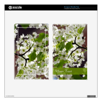 Floral Personalized Blossom Photo Kindle Fire Skin