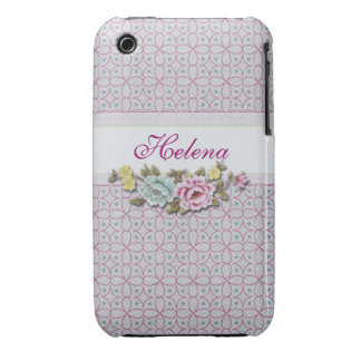 Floral Personalized iPhone 3g/3gs Case-Mate Case iPhone 3 Cases