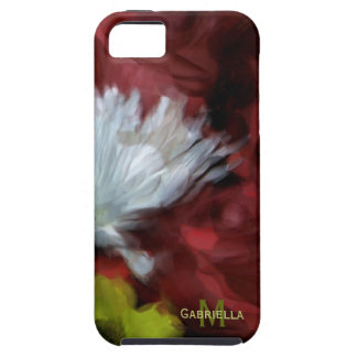 Floral: Personalized: iPhone 5 Case