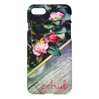 Floral Personalized iphone 7 Case