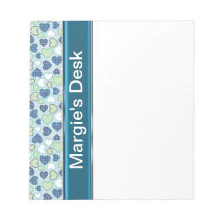 FLORAL PERSONALIZED NOTEPAD TEMPLATE