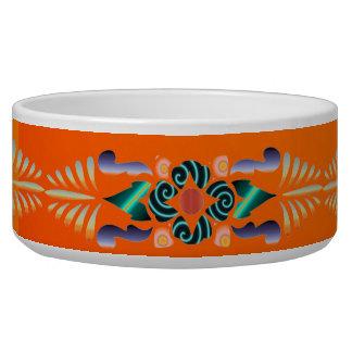 Floral Pet Bowl