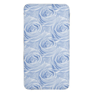 Floral Photo Blue Rose Nature Wallpaper Pattern Galaxy S4 Pouch