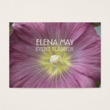 Professional Business Floral Photo Business Card