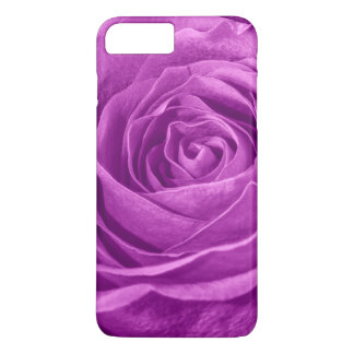 Floral Photo of a Vibrant Orchid Colored Rose iPhone 8 Plus/7 Plus Case