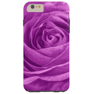 Floral Photo of a  Vibrant Orchid Colored Rose Tough iPhone 6 Plus Case