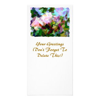 FLORAL CUSTOMIZED PHOTO CARD