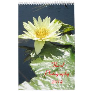 Floral Photography 2014 Calendar