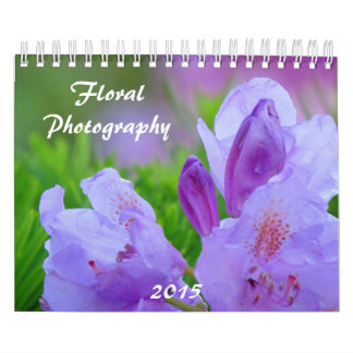 Floral Photography 2015 Calendars
