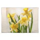 Floral Photography:  Yellow Spring Daffodils Placemat
