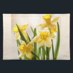 """Floral Photography:  Yellow Spring Daffodils Placemat<br><div class=""""desc"""">Yellow Spring Daffodils:  A nature  photograph of a bouquet of cheerful,  yellow Spring Daffodils.     You can optionally customize or personalize this design by clicking on the customize it button to add your own images or text.</div>"""