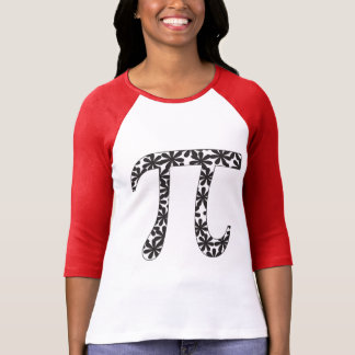 Floral Pi T Shirt