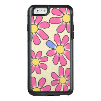 Floral Pink Graphical on any Color OtterBox iPhone 6/6s Case