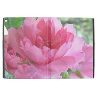 Floral Pink Rose Flower iPad Pro Case
