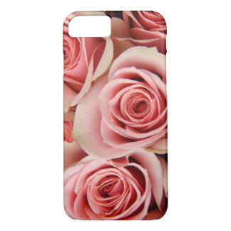 Floral, Pink Roses, Petals Smooth as Silk, iPhone  iPhone 7 Case