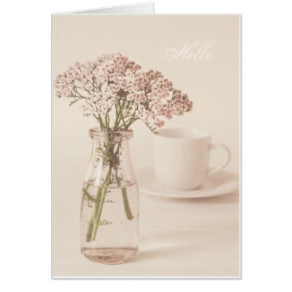 Floral- Pinks Card