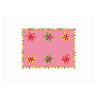 Floral Placement Postcard
