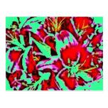 floral postales
