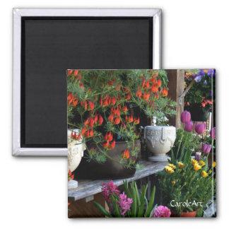 """""""Floral Pots"""" Magnet"""