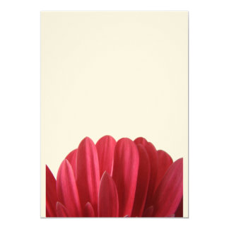 """Floral Pouch 5"""" X 7"""" Invitation Card"""