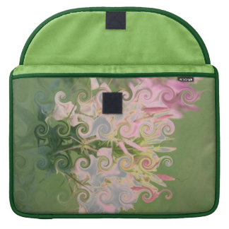Floral-print elegant bold and stylish sleeve for MacBook pro