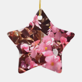 floral products ceramic ornament