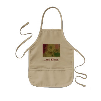 (floral products) kids' apron