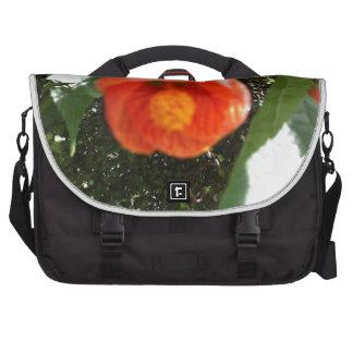 floral products laptop messenger bag