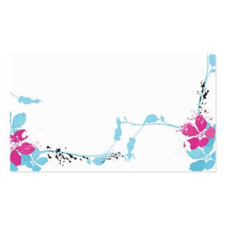 Floral Profile Card