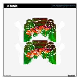 Floral PS3 Controller Decals