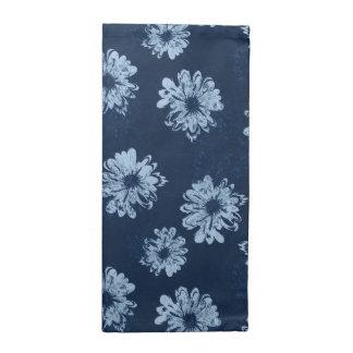 Floral psicodélico del vintage del acuario servilletas