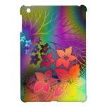 Floral psicodélico iPad mini fundas