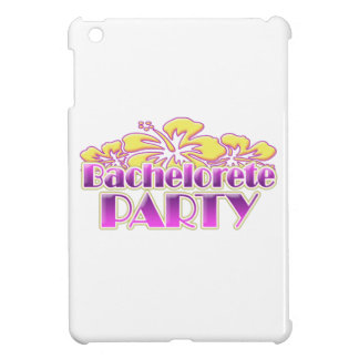 floral purple bachelorette party yellow flowers case for the iPad mini