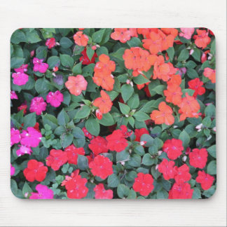 Floral Rainbow Mouse Pad