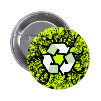 Floral recicle pins